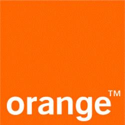 orange mobile logo groot